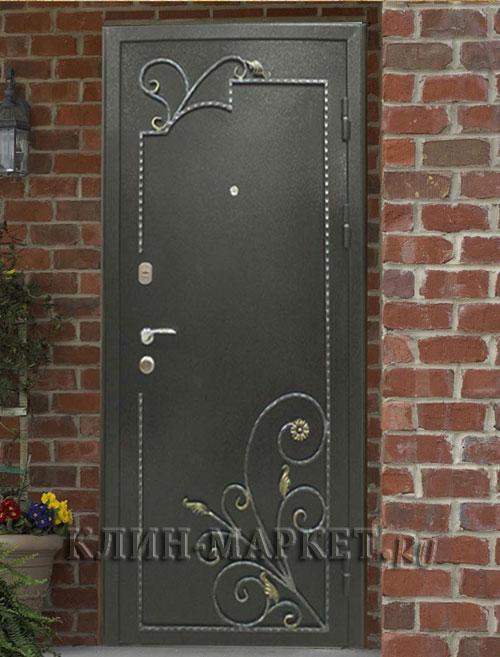 входные двери с металла