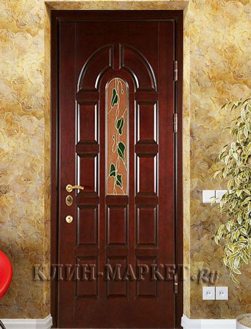 входные двери мдф с ковкой