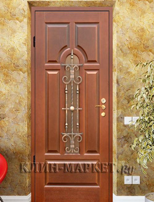 купить входную стальную дверь с ковкой недорого