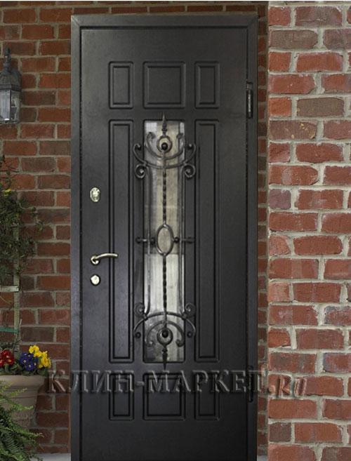 железные двери 2 листа стали